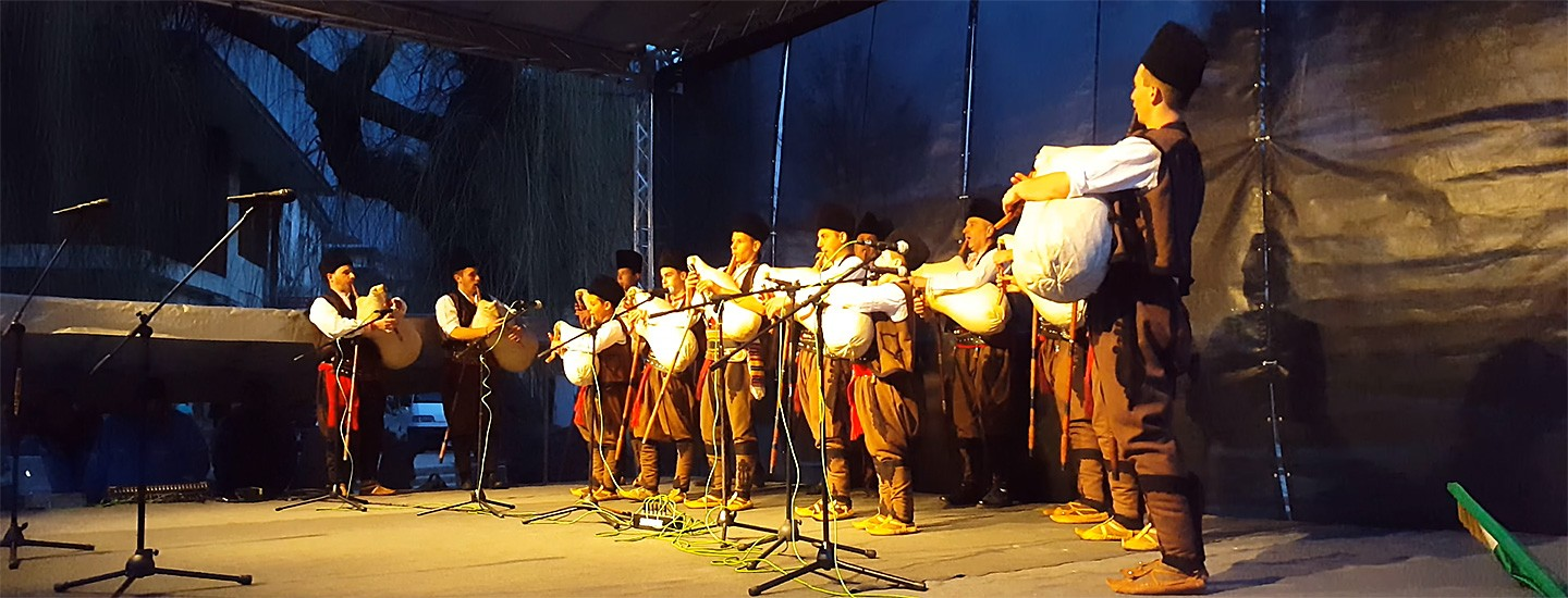 In village of Gela will be held A bagpipe contest